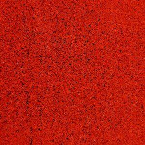 Césped artificial Rojo para jardines interior y exteriores